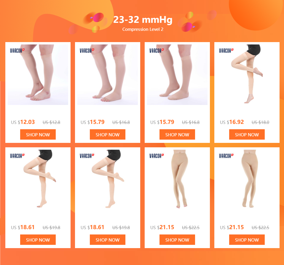 Medical Compression Socks for Men Women 23-32 mmHg - Best Support Nurse Running Athletic Pregnancy Flight Travel Varicose Veins