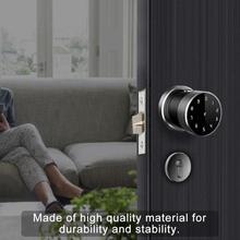 Card Reader Password Security Door lock  Digital APP Smart Sphere Silver
