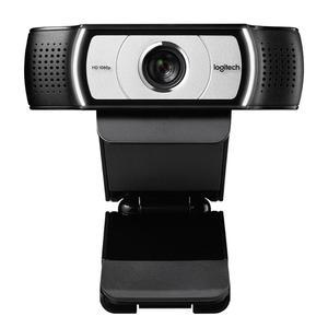 Image 2 - מקורי Logitech C930c HD 1080P מצלמת Webcam החכם עם כיסוי עבור מחשב USB וידאו מצלמה 4 זמן דיגיטלי זום מצלמת אינטרנט