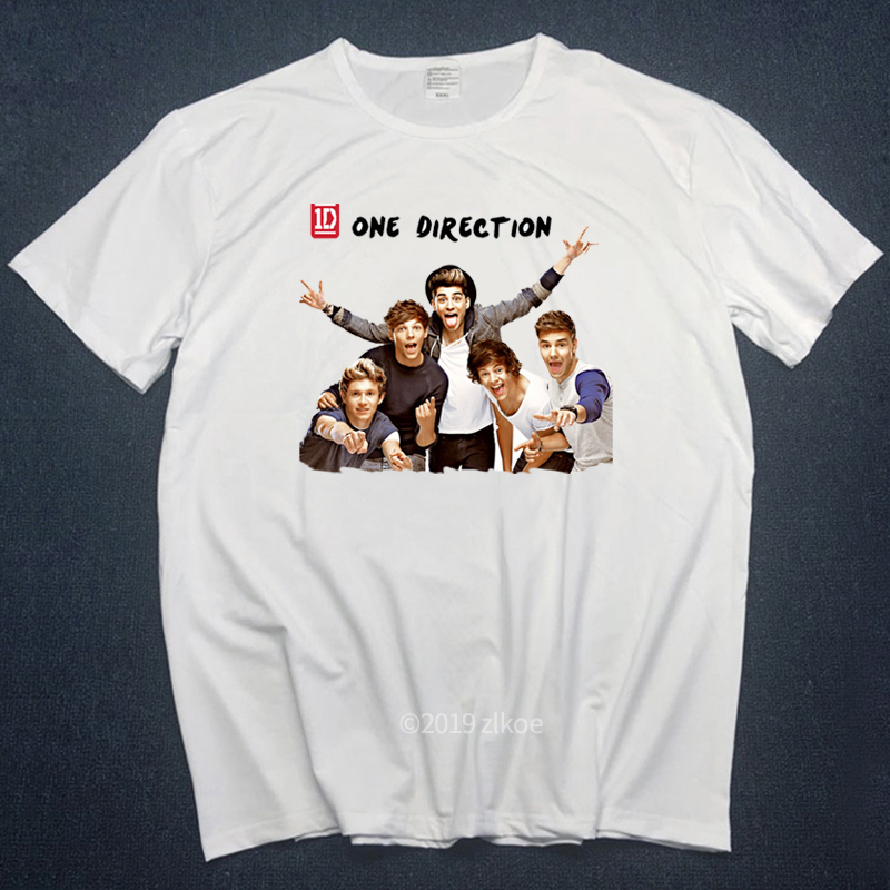 Music Tshirt Almighty Slogan T-shirt Men Hipster Harajuku Tee Shirt Femme 2019 Fashion Men T Shirt One Direction