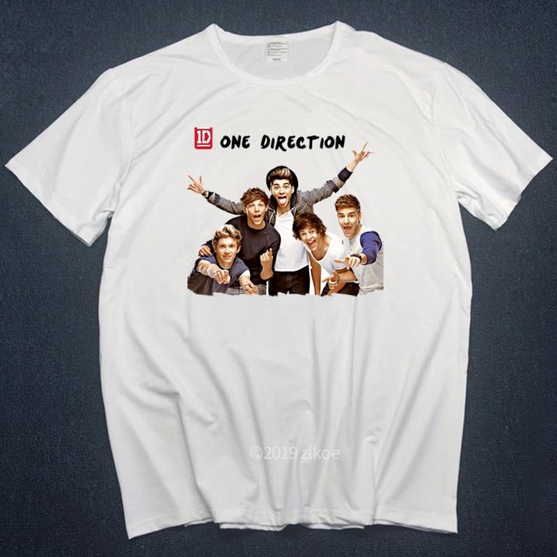 Music Tshirt Almighty Slogan T-shirt Men Hipster Harajuku Tee Shirt Femme 2019 Fashion Men T Shirt One Direction