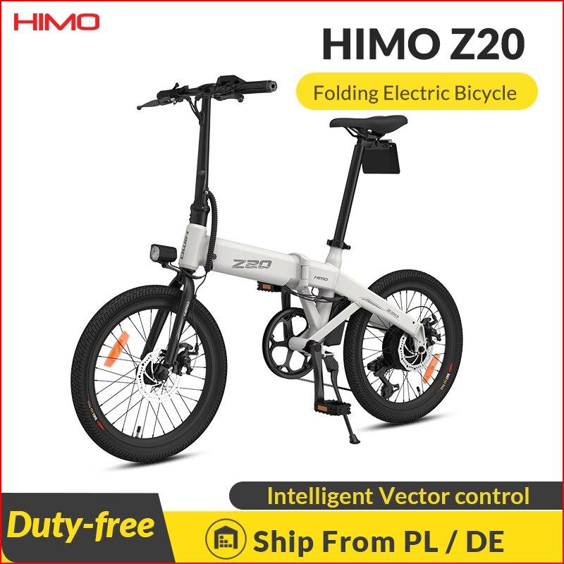 Himo Z20 – vélo électrique pliant, 250W, 10ah, Ultra-dynamique, double Mode, 80KM dautonomie, vélo de plage