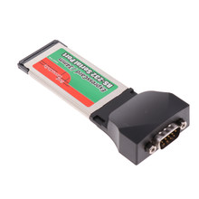 1x34 millimetri Porta Express Card Seriale RS232 Serial Port Adapter Card per Notebook(China)
