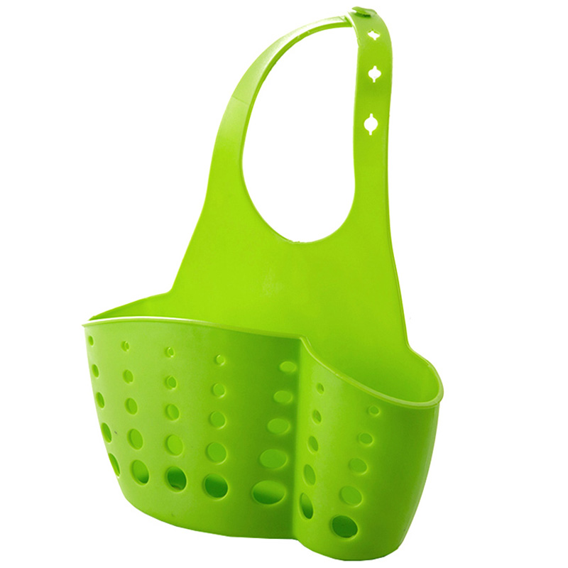 Sink Plastic Leachate Basket Hoisting Basket Kitchen Accessories Kitchen Utensils Rack Drain Rack LU4207
