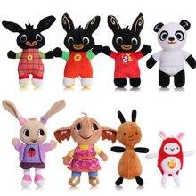20-35cm Bing pluszowy królik zabawkowy królik Sula Flop Hoppity Ant Panda Coco pluszowa lalka Peluche zabawki dla dzieci prezenty na urodziny, boże narodzenie