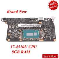 NOKOTION Brand New for Lenovo Yoga 2 Pro Laptop Motherboard 5B20G38213 VIUU3 NM-A074 i7-4510U CPU 8GB RAM