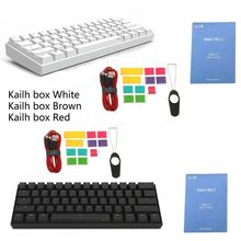 60% Mechanical Keyboard Bluetooth 4.0 Type-C RGB 61 Keys Kailh Box Switch