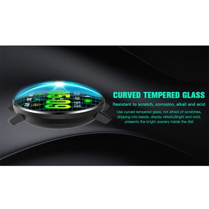 Image 2 - KAIHAI 스마트 워치 강화 유리 심박수 모니터 안드로이드 전화 IP67 방수에 대한 Smartwatch 음악 스톱워치 터치 스크린
