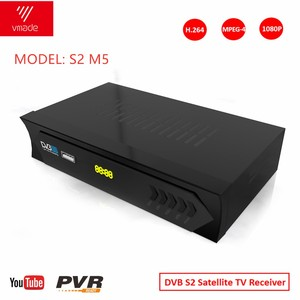 Image 1 - DVB S2 HD Digital receptor satelite decoder  Support powerVU H.264 MPEG4 hd 1080P TV Tuner satellite Receiver for spain Europe