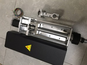 Image 1 - 150mm Travel 1250mm/min CNC Flame and Plasma Cutting Lifter Z axis +Standard Clamp+nema23 stepper motor