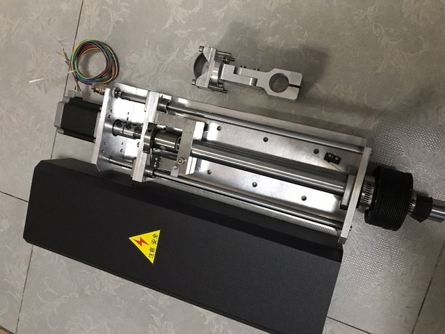 150mm Travel 1250mm/min CNC Flame and Plasma Cutting Lifter Z axis +Standard Clamp+nema23 stepper motor