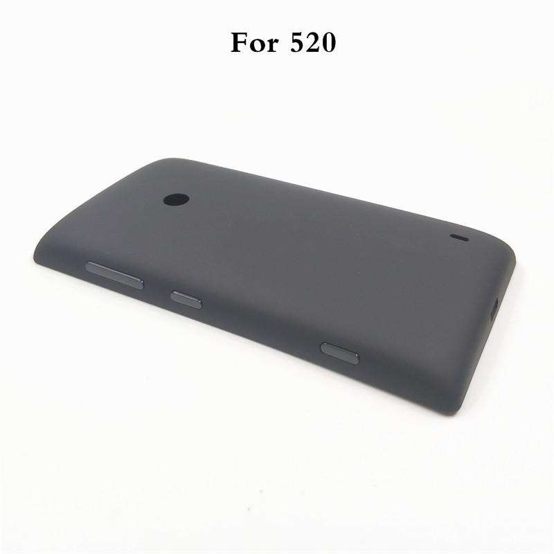 Replacement Battery Door Back Cover Housing For Nokia Lumia 520 525 Battery Cover Housing Side Button