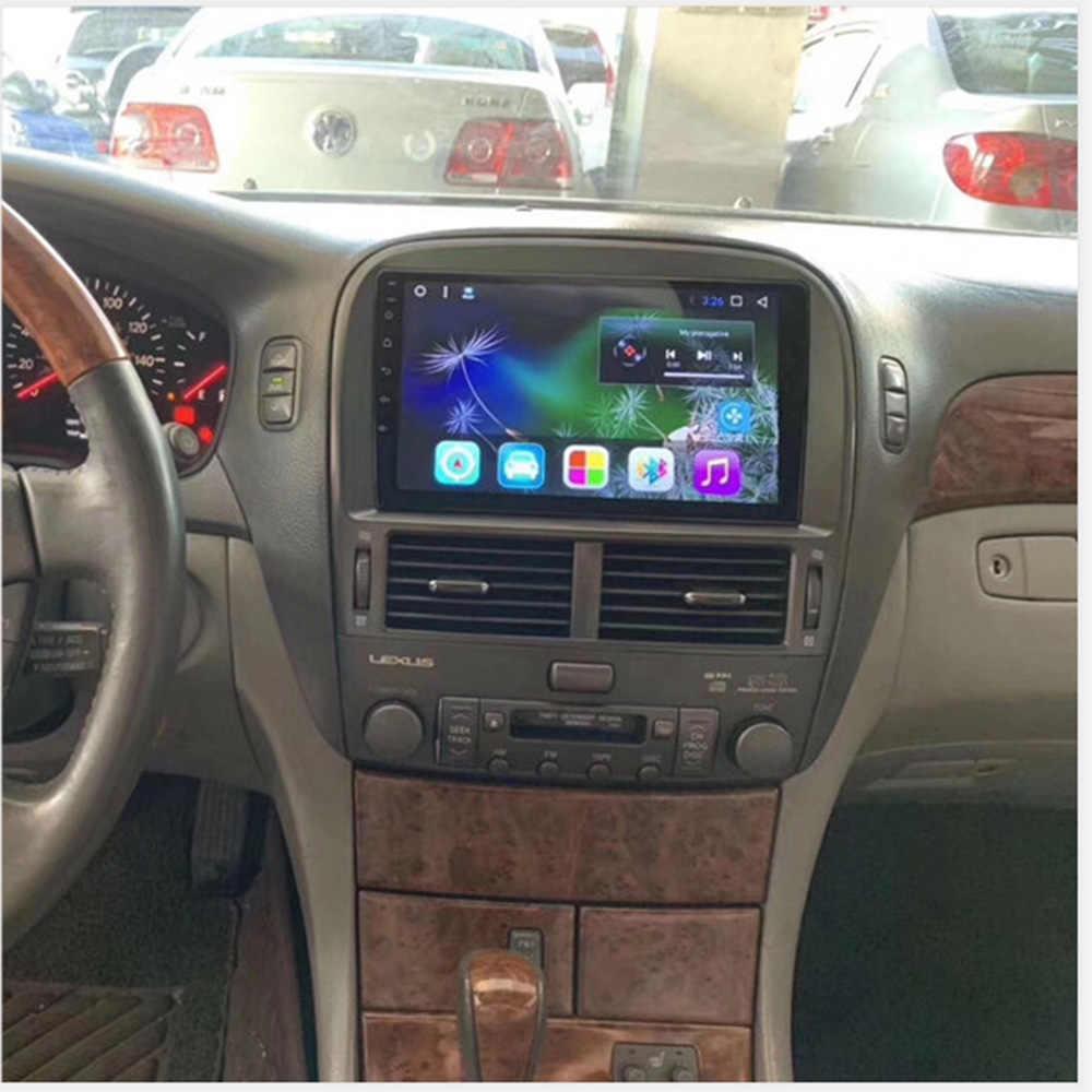 Mobil Multimedia Player Stereo GPS DVD Radio Navigasi Layar Android untuk Lexus LS 430 LS430 2000 2001 2002 2003 2004 2005 2006