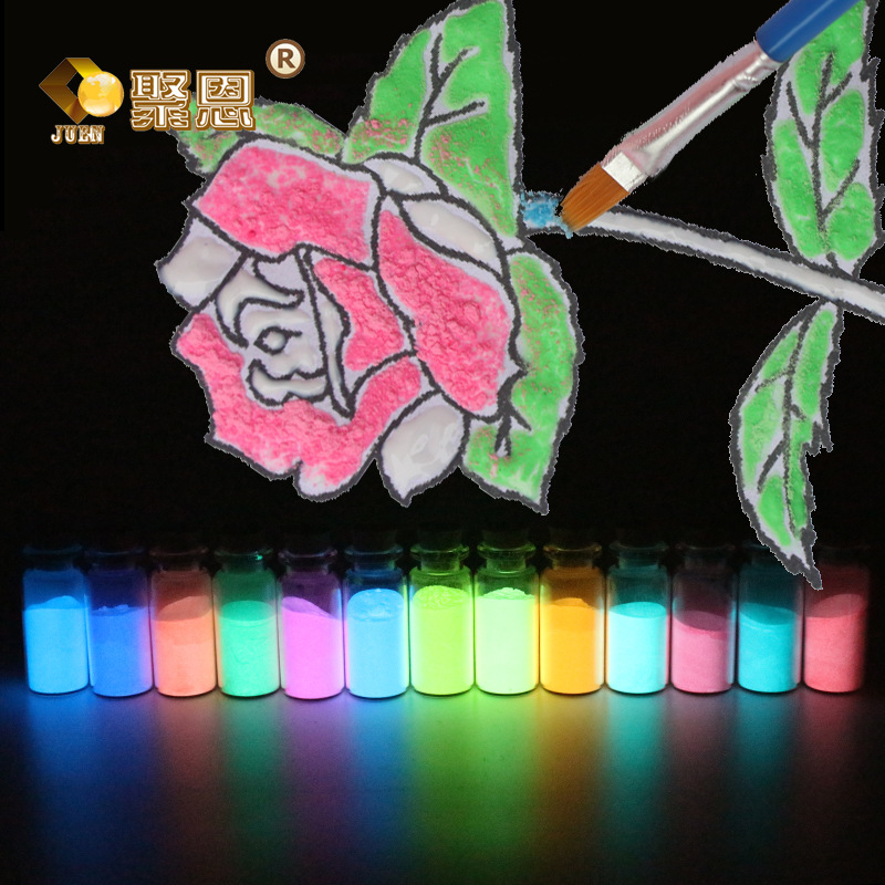 10g Luminous Sand Glow In The Dark Stones Garden Park Road Pebbles Ornaments For Party Aquariums Fish Tank Decoration Ornaments