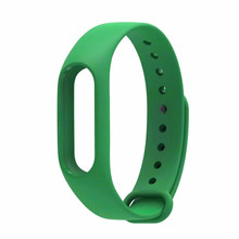 Replace Watch Strap Silicone Wristband for Mi band 2 Bracelet Anti-Lost Strengthen Silicone Strap for miband 2 strap replacement(China)