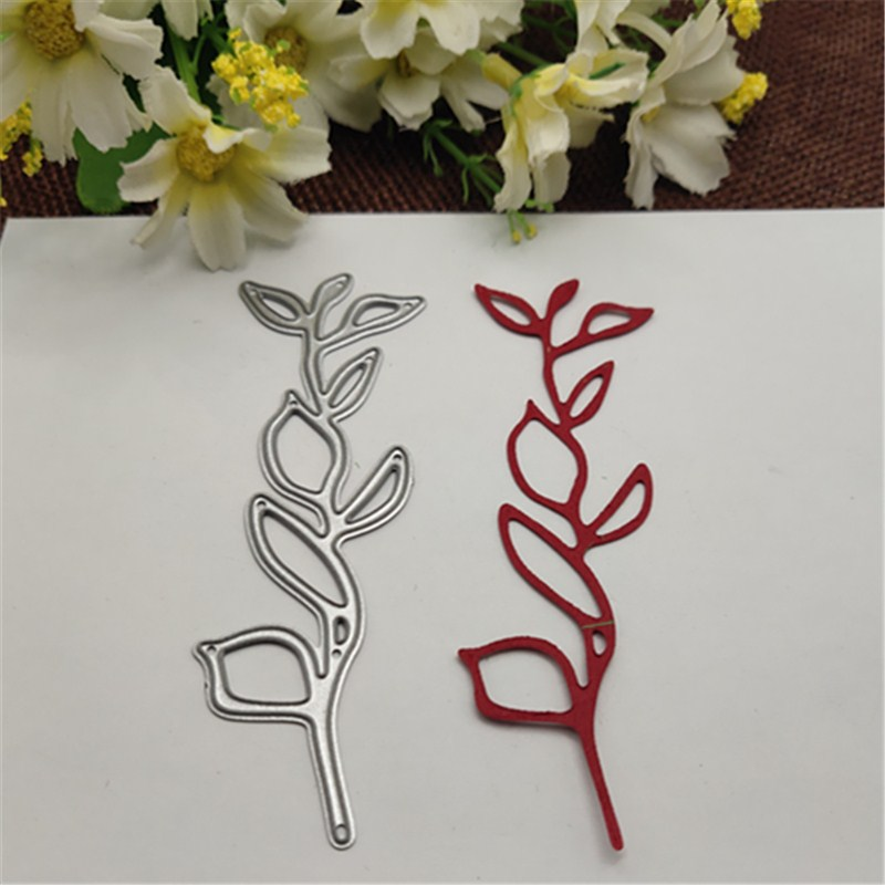 Leaf Strip Metal Cutting Dies Stencils For Card Making Decorative Embossing Suit Paper Cards Stamp
