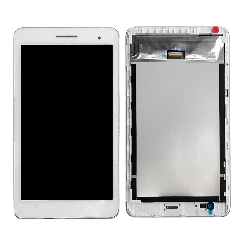 For Huawei Honor Play Mediapad T1 T1-701 T1-701U T1-701W LCD Display Digitizer Screen Touch Panel Sensor Assembly With Frame