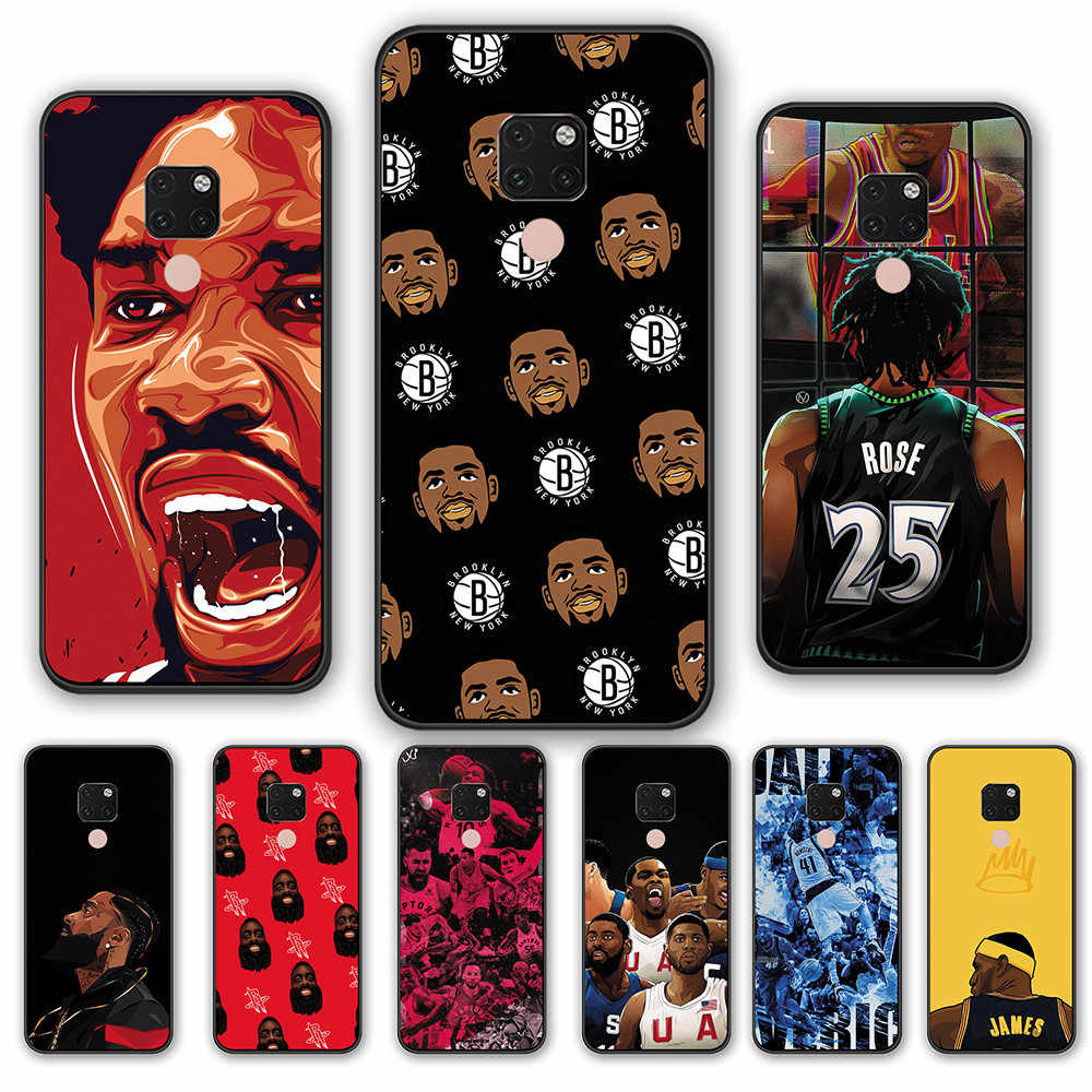 TPU Soft cover Huawei P30 P20 Pro P9 P10 Plus Best Basketball MVP celebrity Phone cases FOR HUAWEI MATE 10 20 30 Lite