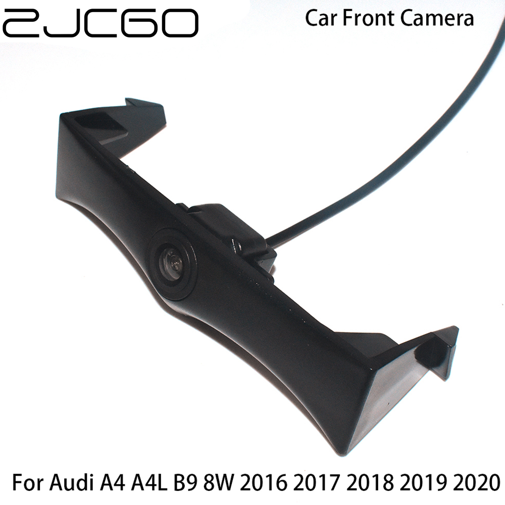 Car Front View Parking LOGO Camera Night Vision Positive Waterproof for Audi A4 A4L B9 8W 2016 2017 2018 2019 2020 image