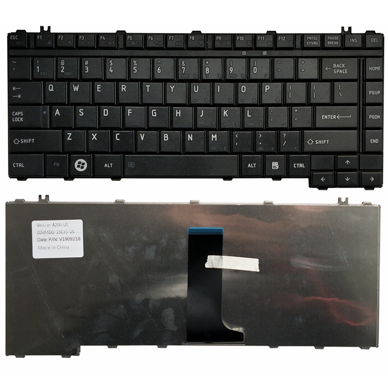 NEW US LAPTOP KEYBOARD FOR Toshiba Satellite M320 M327 M322 A300 A200