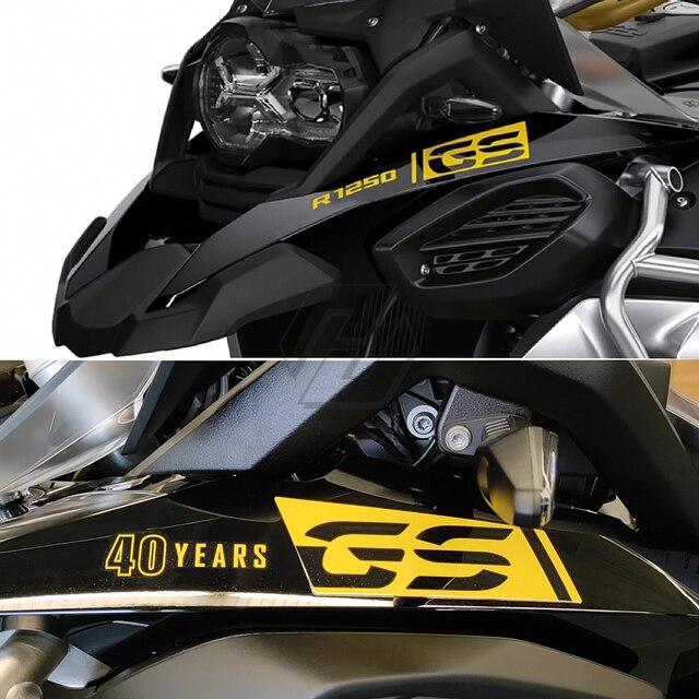 오토바이 R 1250 GS 로고 스티커 Nib 종이 스티커 액세서리 BMW R1250GS 모험에 대 한 방수 2017 2021 2018 2019 2020