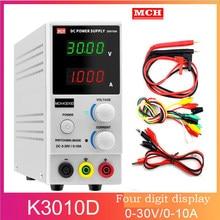 2020 novo quatro display 110 v-220 v mini interruptor regulado ajustável dc fonte de alimentação display MCH-K3010DN 305dn 605dn