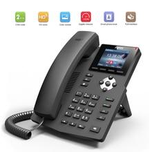 Nowy Fanvil X3S/X3SP/X3G SOHO telefon ip inteligentna bezprzewodowa obsługa telefonu EHS bezprzewodowy zestaw słuchawkowy Vo telefon ip dla biura biznesowego strona główna