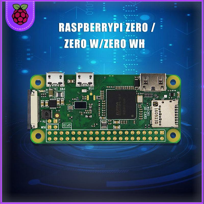 Em estoque raspberry pi zero/zero w/zero wh esposa sem fio placa bluetooth com 1ghz cpu 512mb ram raspberry pi versão zero 1.3