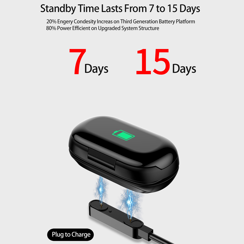 Sport Watch 0.96″ M1 AI Smart Watch With Bluetooth Earphone Heart Rate Monitor Smart Wristband Long Time Standby Wireless Earbud