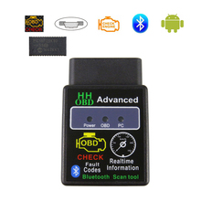 ELM327 V 1,5 Bluetooth Auto OBD2 Scanner Code Leser Ulme 327 v 1,5 OBDII OBD 2 Auto Diagnose Werkzeuge Für android PIC18F25K80