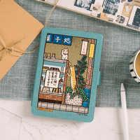 Japon style aimant PU Flip couverture pour Amazon Kindle Paperwhite 1 2 3 4 2018 449 558 étui 6 pouces Ebook étui pour tablette en cuir