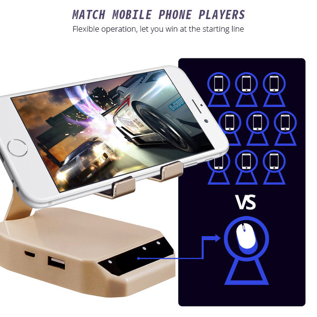 Bluetooth Keyboard Mouse Mobile Gamepad Controller