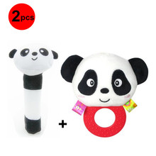 2pcs Pack 0 to 12 Months Newborn Baby Toys Infant B