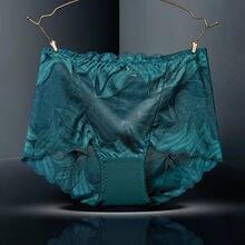 Sexy lingerie renda mais tamanho oco tentação ropa mujer calcinha feminina senhoras briefs lenceria sensual mujer tanga novo