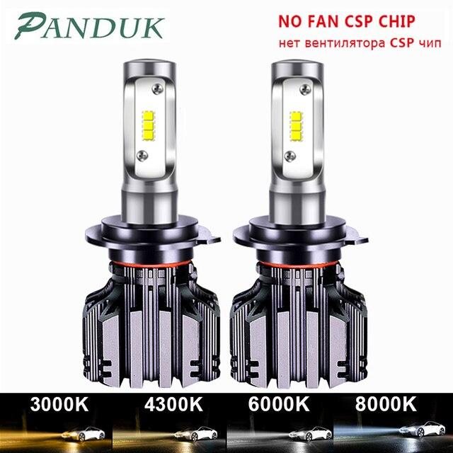 PANDUK CSP 16000LM araba far H4 H7 LED H1 H3 H8 H9 H11 LED 3000K 6000K 8000K 9005 9006 HB3 HB4 880 LED ampul sis araba lambası