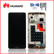 HUAWEI Original Mate 9 Pro LCD Display Touch Screen Digitizer For Huawei Mate9 Pro Display with Frame Replacement MT9 + Tools цена в Москве и Питере