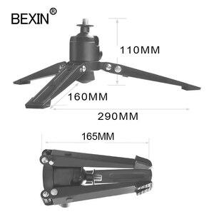 Image 3 - BEXIN monopod القدم دعم ترايبود العالمي المهنية monopod قاعدة قوس فيديو حامل كاميرا محول تركيب ل dslr monpod