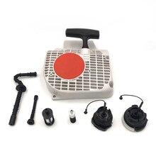 Ручной Тяговый стартер воздушный проводник для STIHL MS250 MS230 MS210 021 023 025 MS 250 230 210 бензопила запасных Запчасти 1123 080 1802