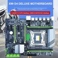 computer motherboard Computer Motherboard 4xDDR4 DIMM 2400/2133MHz SATA3.0 NVME M.2 Dual USB 3.0 PCI-E Slot LGA2011-3 Pin CPU 4 Channels Motherboard (1)