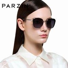 PARZIN 여성 선글라스 Polarzied 우아한 레이디 빈티지 태양 안경 여성 운전 안경 Gafas De Sol Okulary