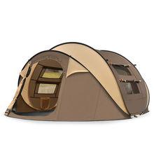 Палатка mongar туристическая нейлоновая 20d двухслойная Водонепроницаемая