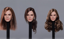 1/6 Scale The Magic Lady Emma Charlotte Duerre Watson Head Model Beauty Female Sculpt Carving for 12 Action Figure