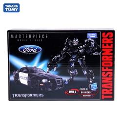 TAKARA TOMY Transformers MPM05 CAR Metal Part 18CM Barricade Autobots Action Figure Deformation Robot Children Gift Toys