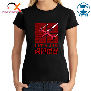 Heavy Metal Style woman Short Sleeve T-shirt Cowgirls Bebop 3, 2, 1 let's jam Awesome Artsy T shirt Inspired Design Top Tshirt image