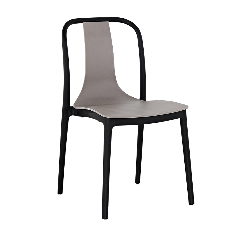 Chair Simple Modern Adult Net Red Back Plastic Dining Chair Outdoor Leisure Negotiation Office  Home  Table And