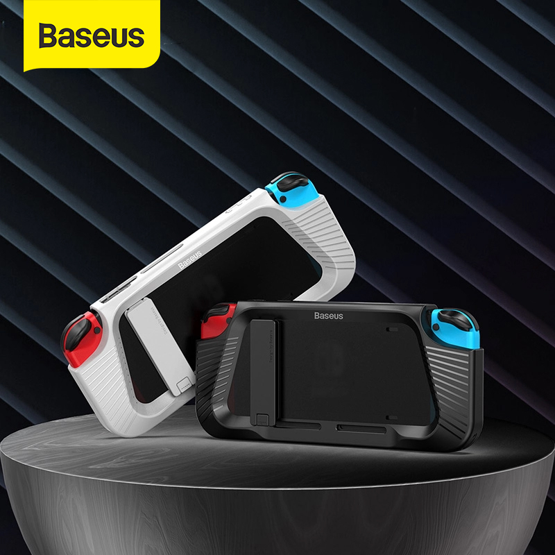 Baseus Gamepad Holder Case For Nintendo Switch Shockproof Stand Cover For Switch Bracket Case Left Right Game Controller Coque