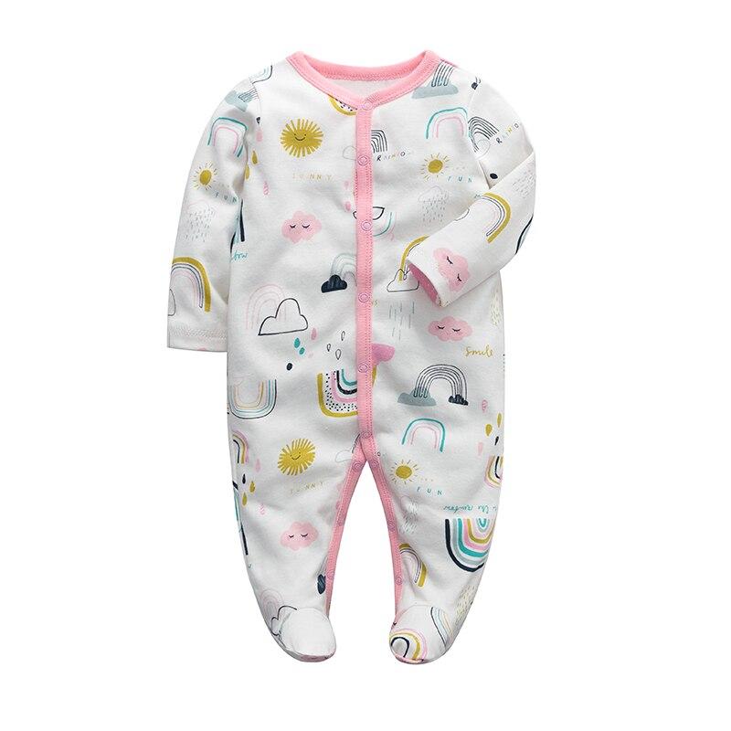 Ropa para niñas recién nacidas, mono de manga larga para bebés, pijama de algodón de 3, 6, 9 y 12 meses, ropa para bebés recién nacidos Mono sin mangas para niño recién nacido, sin mangas, con motivos florales, ropa para niña bebé