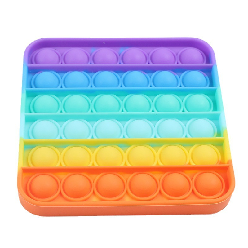Reliever-Toy Rainbow Fidget It-Bubble-Sensory Emotions-Stress Push-Pop Anxiety for OCD img3