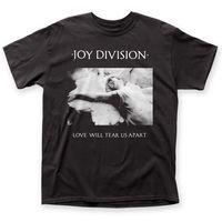 Authentic Joy Division Love Will Tear Us Apart Album Cover Art T shirt top