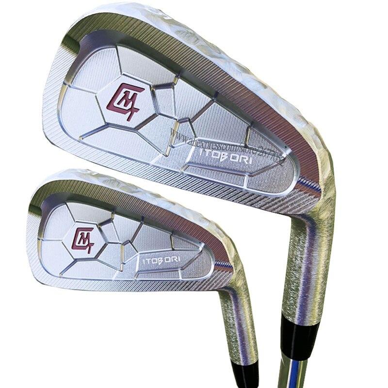 New Golf Clubs MTG Itobori Golf Irons 4-9P Irons Set Clubs Steel Shaft R Or S Golf Shaft Cooyute Free Shipping